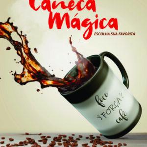 CANECA CERAMICA – 325 ML – MAGICA/COLHER