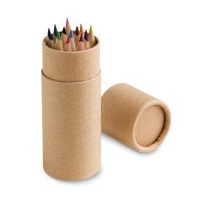 CRICKET. Caixa com 12 lápis de cor